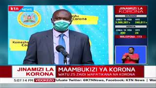 DR. Amoth: Through WHO Kenya has been approved to join solidarity trial