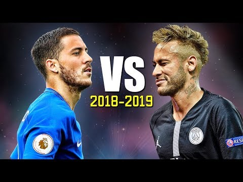 Neymar Jr vs Eden Hazard ● Skills Battle | Who's the most skillful? 2018/2019 HD