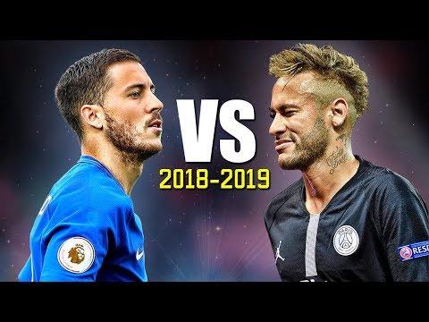 Neymar Jr vs Eden Hazard ● Skills Battle | Who's the most skillful? 2018/2019 HD