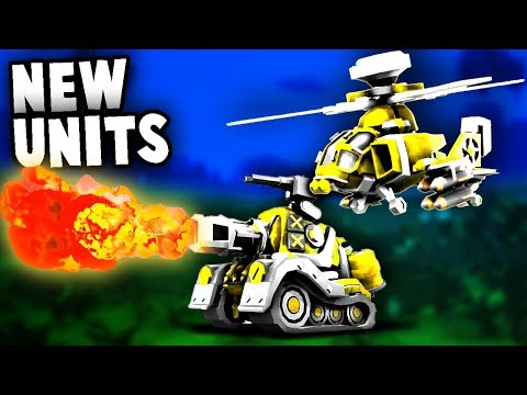 BEST NEW UNITS!  Air Support Incoming!  (Tiny Metal Release Gameplay Part 2)