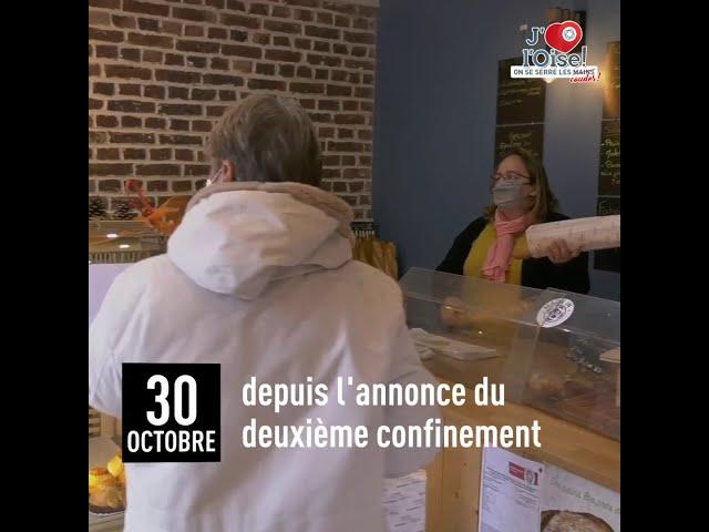 J'aime l'Oise, on se serre les coudes ! Boulangerie Casbonne à Goincourt