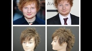 Ed Sheeran Haircut Tutorial