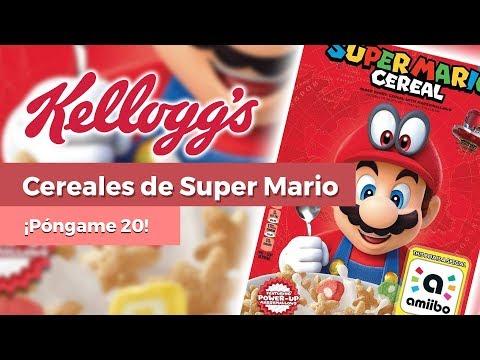 ¡Los cereales Kellogg's de Super Mario son realidad!