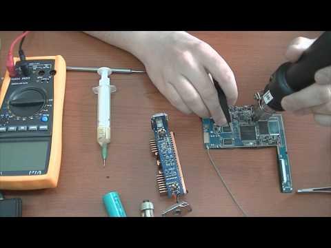 Ремонт электронной сигареты.