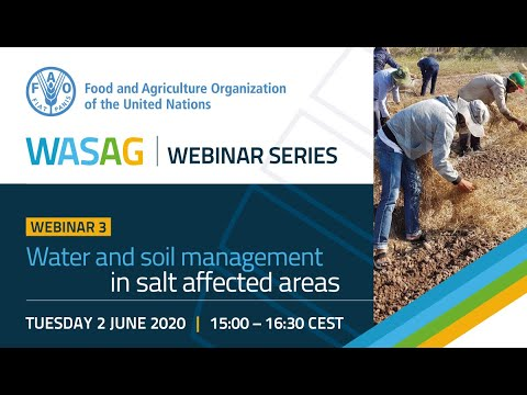 , title : 'Webinar: Soil and Water Management in salt-affected areas'
