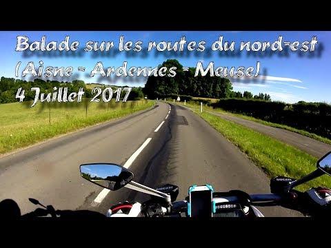 Roadtrip en Ducati Diavel sur les routes du Nord-Est