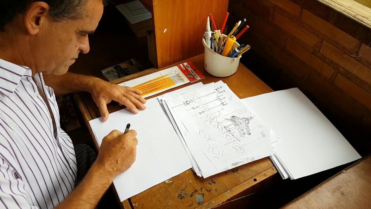 Imagem: Gerson Guedes fala sobre a criação da série 'Recortes urbanos'