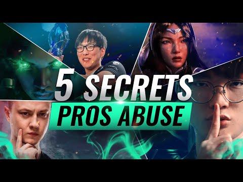 5 SECRET Tricks Pros Keep To Themselves - League of Legends