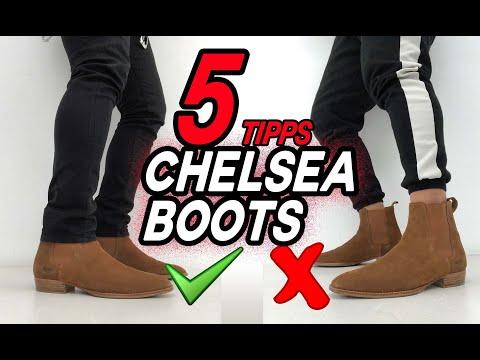 CHELSEA BOOTS RICHTIG TRAGEN   TOP 5 TIPPS
