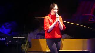 """""""God Bless America - Beautiful Women In It"""" Lana Del Rey@State College, PA 1/26/18"""
