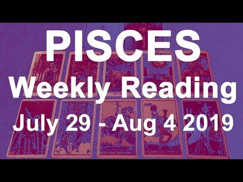 Pisces Weekly Horoscope Tarot