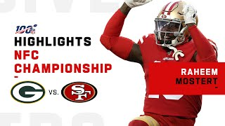 Raheem Mostert Makes History w/ 220 Yds & 4 TDs in Playoff Game   NFL 2019 Highlights