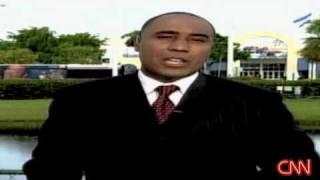 Shomari Stone Reports for CNN on Miami Mall Pot Bust..  8/24/2008
