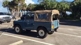 Restored 1968 Land Rover Series IIA Santana in Tampa Bay, Florida
