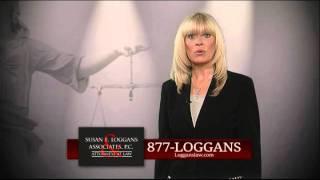 Susan E. Loggans & Associates Work Injuries video