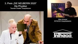 """""""Die Physiker"""" – 3. Preis DIE NEUBERIN 2020"""