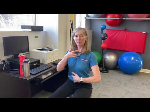 Relieving upper back tension