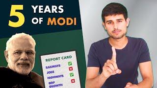 Modi Govt: 5 Year Report Card | Mega Analysis by Dhruv Rathee ft. Soch