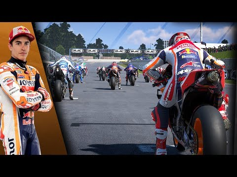 MotoGP Sachsenring 2019: RACING AS MARQUEZ FROM LAST PLACE! (MotoGP 19 Gameplay)