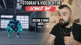JIGZAW X NIMO   WER  FOTOGRAF & VIDEOEDITOR SCHAUT RAP  LIVE REACTION
