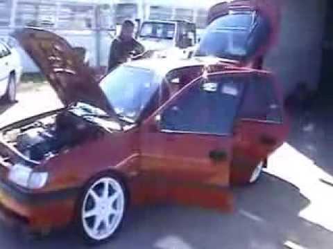 Kia sportage 2 0 Benzin der Brennstoffverbrauch auf