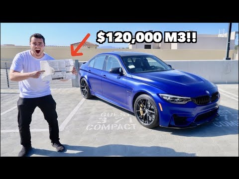 TAKING DELIVERY OF THE MOST EXPENSIVE BMW M3 IN THE US! by ...