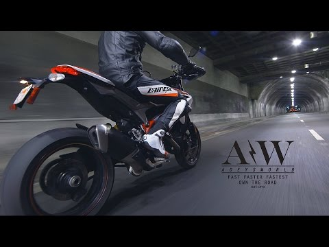 Ducati Hypermotard SP Ripping Thru DTLA in 4K!!