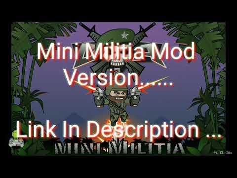 No Root Mini Militia Hack V4 42 0 Latest Version Mod 2018