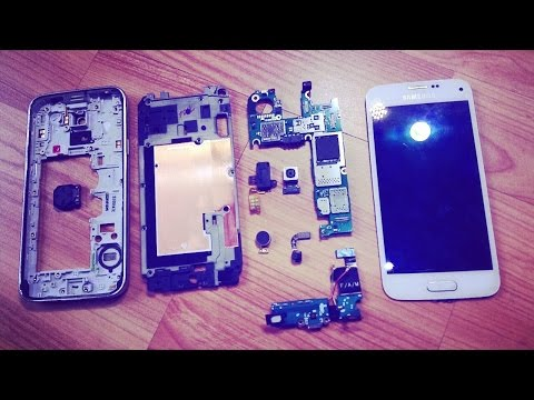 Samsung Galaxy S5 Mini G800F Disassembly Reparaturanleitung