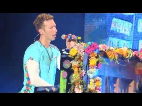 Coldplay - Up&UP live in Sao Paulo, Brazil 07/04/2016