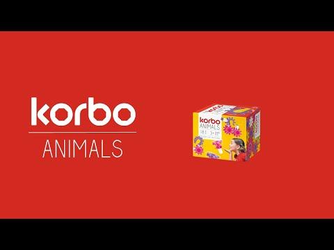 Конструктор Korbo Animals 18 эл