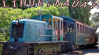 preview picture of video 'Kilohana Plantation Railway: 1939 Whitcomb Diesel Engine Train Ike (Kauai)—Lihue, Hawaii'