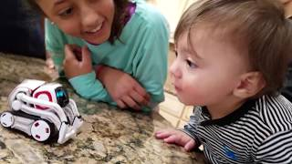 ROBOT SAVES BABY FROM FIRE! COZMO Playtime! Artificial Intelligence Super Computer FUNnel Vision Fun