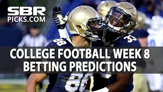 SBR Roundtable Clip | Free Picks College Football Week 8 Preview & Predictions