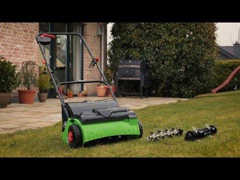Produktvideo   Florabest Vertikutierer / Rasenlüfter   Lidl lohnt sich