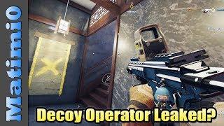 New Decoy Operator Revealed? - Rainbow Six Siege