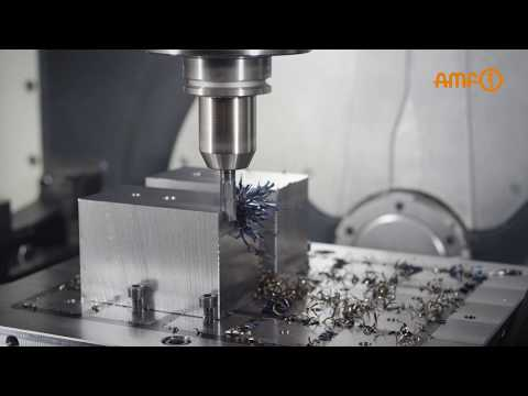 Magnetic clamping plate and zero-point clamping system from AMF - Powerful and reliable combination