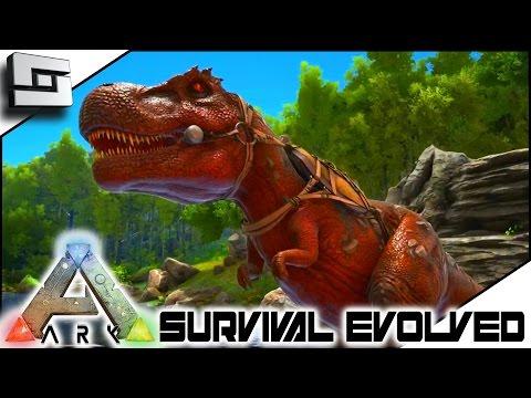 ark survival evolved walkthrough bronto platform saddle base