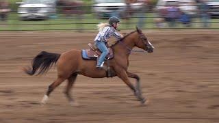 Morrison County Fair Barrel Racing - August 9, 2019