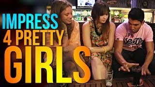 Bar Magic Tricks: IMPRESS Pretty Girls With This Magic Trick!