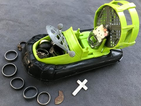 River Hunting: Found Rings, iPhone, Air Boat and Pistol!