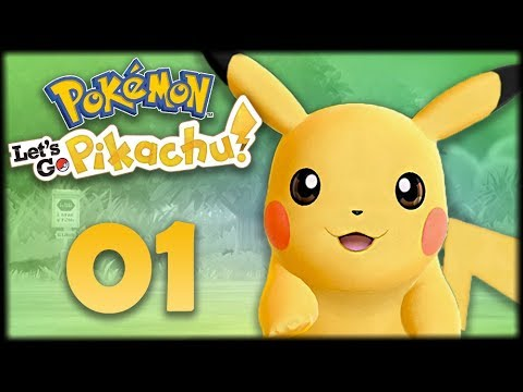 МОЙ ПИКАЧУ -  Pokemon: Let's Go, Pikachu #1 - Прохождение (ПОКЕМОНЫ НА НИНТЕНДО СВИЧ)