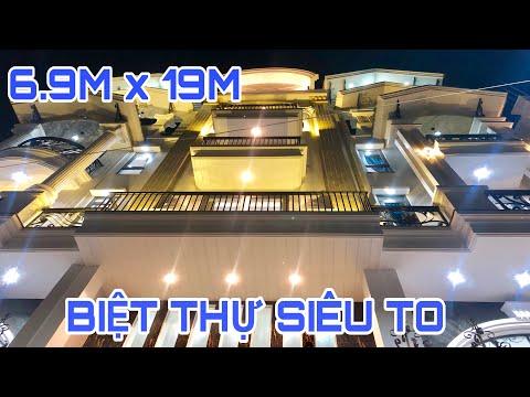 Bán nhà Gò Vấp ( 39 ) 6.8M x 19M ĐỈNH CAO NHÀ PHỐ 4 LẦU SIÊU TO SIÊU ĐẸP SIÊU ĐỘC ĐÁO Ở GÒ VẤP