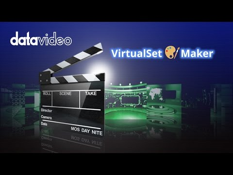 Datavideo VirtualSet Maker for TVS-1000 and TVS-1200