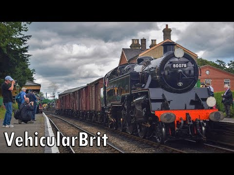 The Watercress Line Summer Steam Gala 1st July 2017