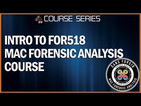 Mac Forensics - SANS Institute - DFIR - FOR518 - Sarah Edwards ...