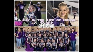 A Day In The Life Of Color Guard| Game Day Vlog