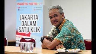 Gubernur Jawa Tengah Ganjar Pranowo Berkunjung ke Kantor Redaksi Tribunnews.com