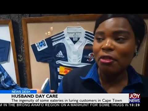 Husband Day Care - News Desk on JoyNews (2-4-18)