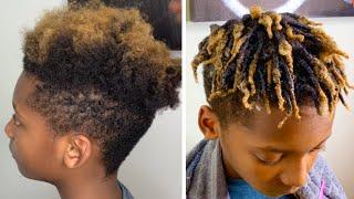 FINGER COILS| BOYS/GIRLS NATURAL HAIR|EASY STYLE